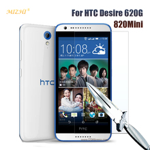 Voor HTC Desire 620G 620G/820 Mini 5.0 inches screen protector gehard glas cover Voor htc desire 620G dual sim case