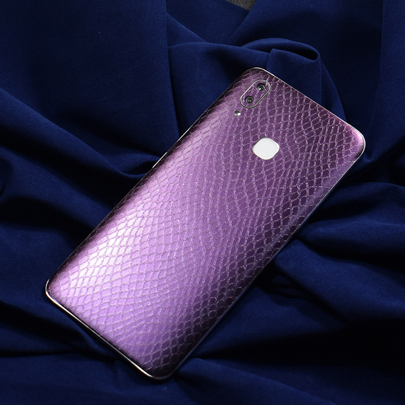Snakeskin Color Changing Pattern Back Film For VIVO X21 Phone X21 X21i Decorative Protector VIVO X21i Stickers AE Saver SHIP