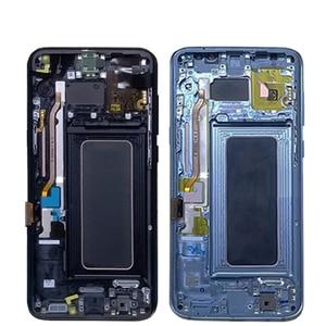Image 4 - Nieuwe Super Amoled Voor Samsung Galaxy S8 Lcd Met Frame S8 G950 G950F Lcd Display S8 Plus G955 G955F Lcd touch Screen Digitizer