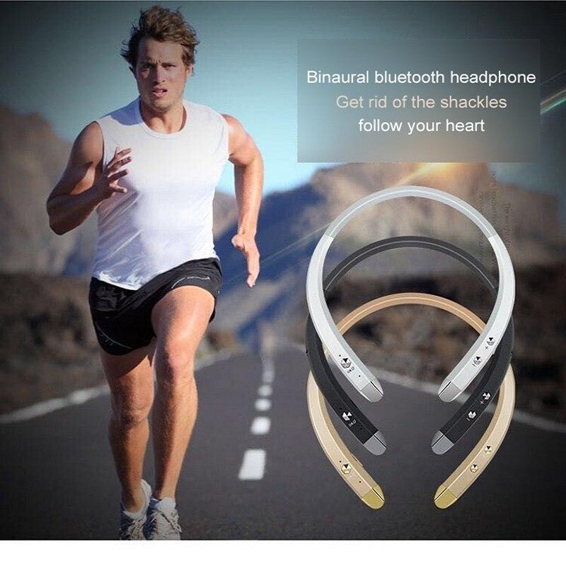 HESTIA Earphone sport Universal Wireless Bluetooth HBS-913 Sports Headphone with Mic Bass Earphone for IPhone Samsung LG