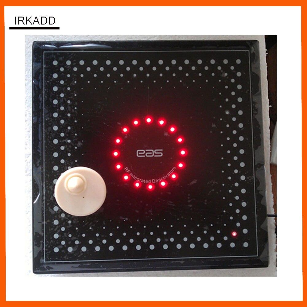 Segurança tag deactivator para rf8.2mhz eas sistema de etiqueta deactivator com som e luz alarme 110 v-250 v frete grátis
