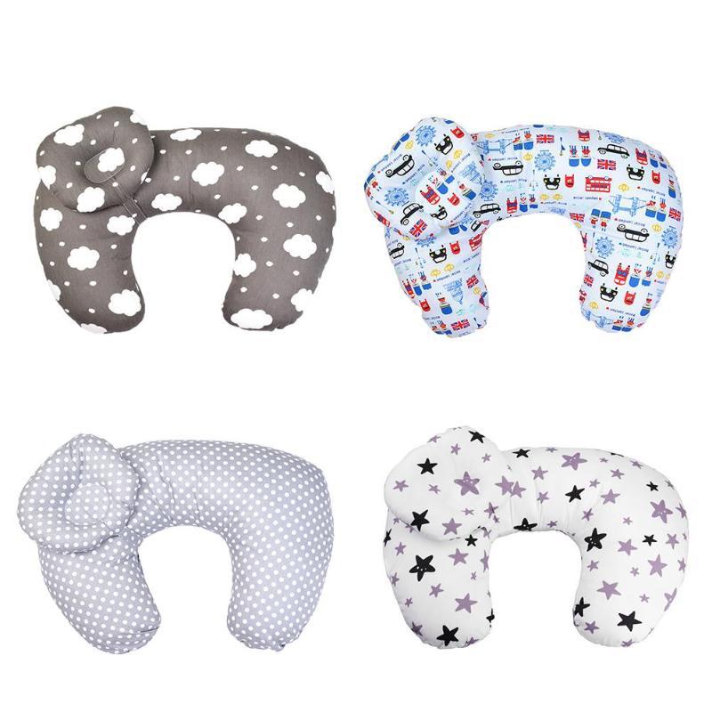 Baby Nursing Pillows Maternity Breastfeeding Pillow Infant Cuddle U-Shaped Head Protection Newbron Cotton Feeding Waist Cushion