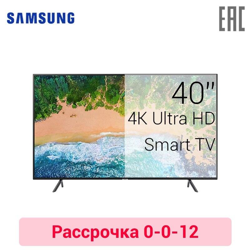 TV LED Samsung 40 UE40NU7100 4K UHD SmartTV 4049inchTV 0-0-12 dvb dvb-t dvb-t2 digital
