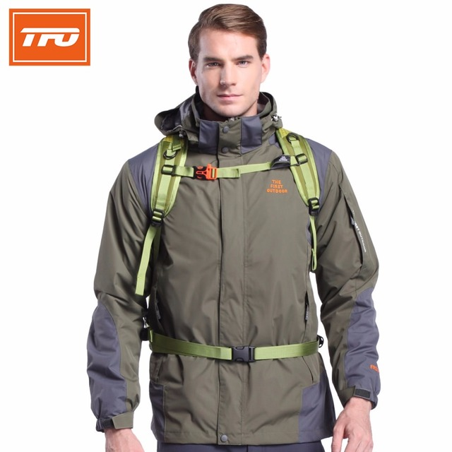 TFO Men brand hiking jackets man Waterproof Camping Hiking Jackets Hunting Climbing WindStopper  Fishing  Windbreaker 6621357