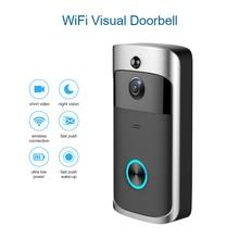 Wifi Video Smart Doorbell With Camera IR Entry Door Alert/Viewer Photograph Video Intercom Home Security Wireless Door Bell Ring homsecur 9inch wired video door entry security intercom electric lock keys included