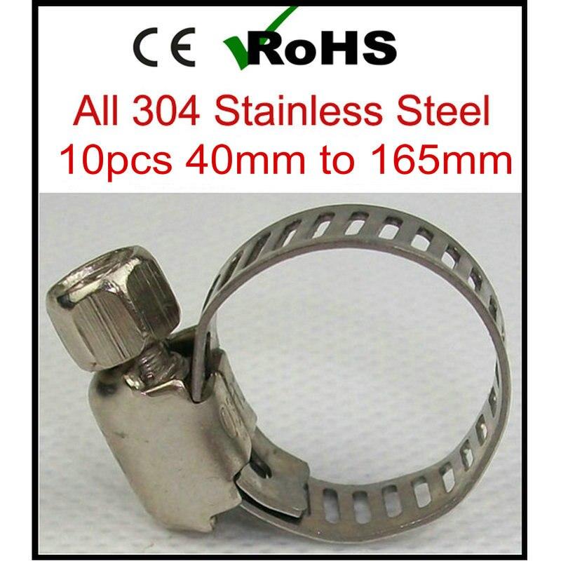 American German Type Stainless Steel Wing Nut Hose Clamp
