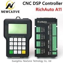 CNC Controller RichAuto DSP A11 A11S A11E 3 แกน USB Controller REMOTE สำหรับ CNC Router ควบคุมระบบ Manual NEWCARVE