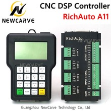 Richau contrôleur DSP, A11, A11S, A11E, USB, 3 axes, manuel, système de contrôle de routeur CNC, NEWCARVE, CNC