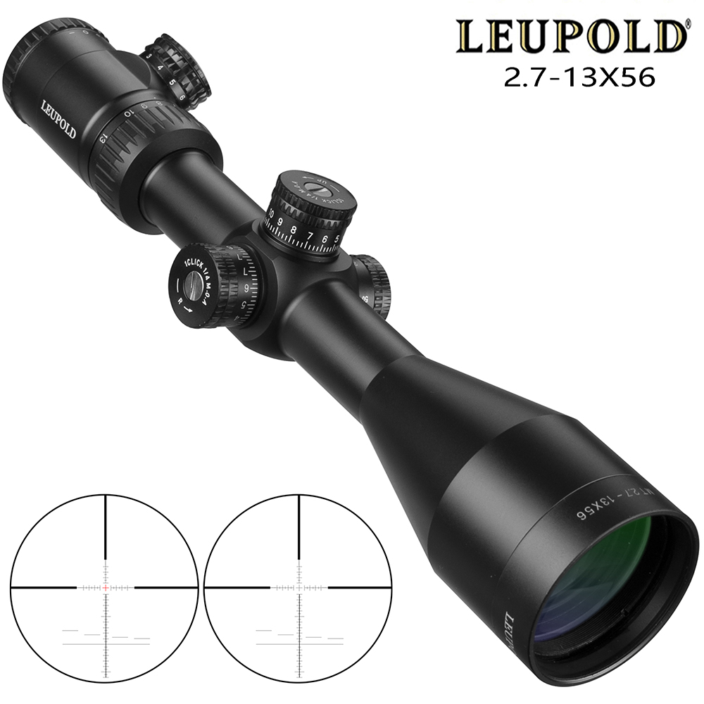 LEUPOLD MT SFIR 2.7-13x56 Scope Mil-dot Illuminated Red Dot Sight Tactical Optical Reticle Tactical Scope Riflescopes For Rifles
