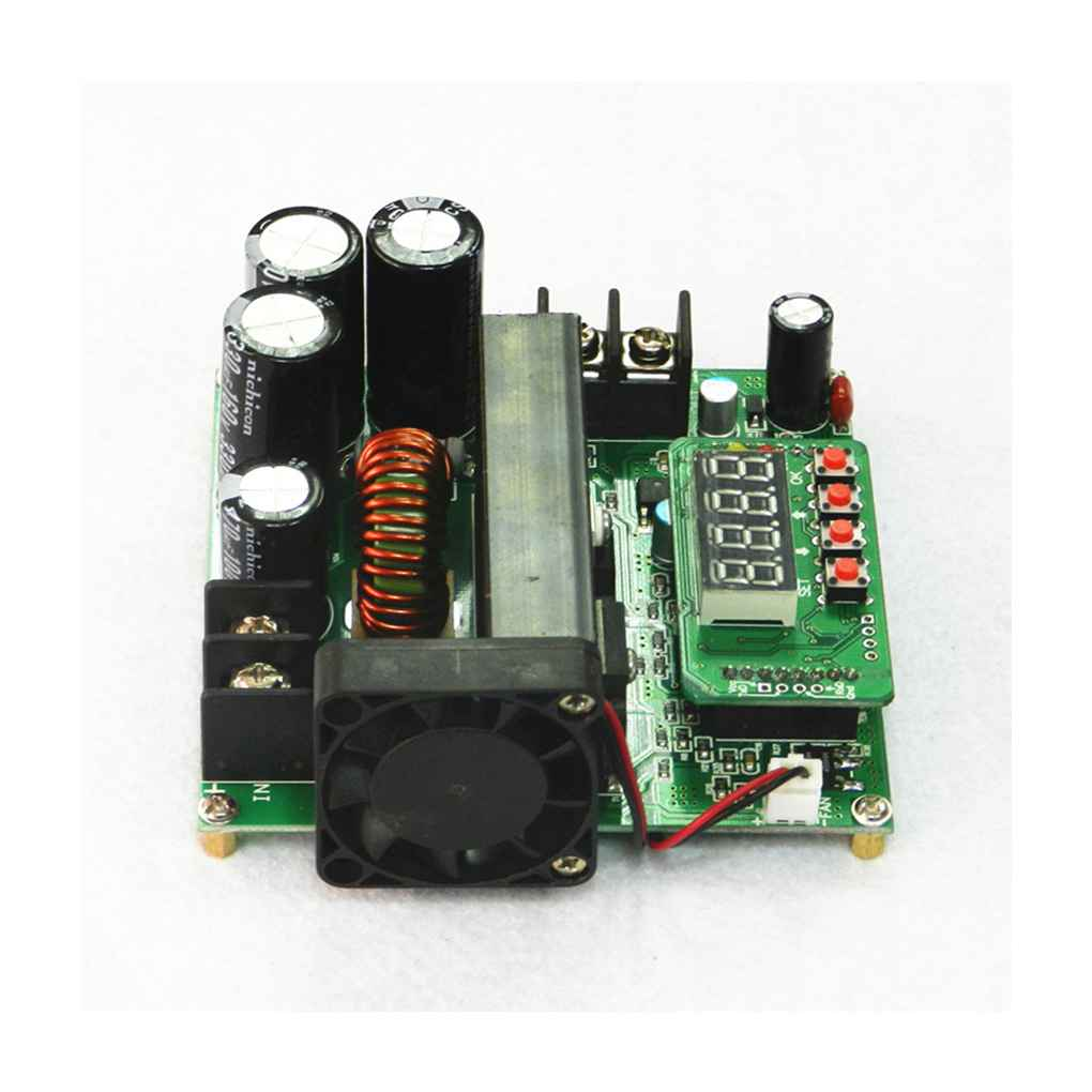 900W Digital Control DC-DC Boost Module 0-15A IN 8-60V OUT 10-120V Step-up Converter Power Supply CC/CV LED Display 110*96*46mm подвес из серебра valtera 45271