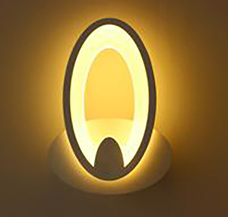 11W oval ellipse shape LED wall lamp bedside lamp modern living room corridor hallway stairs lights Pathway Sconce Lighting bronze wall sconce lighting european style brass wall lights bedlamp bedside lamp living room wall lamp led wandlamp modern led