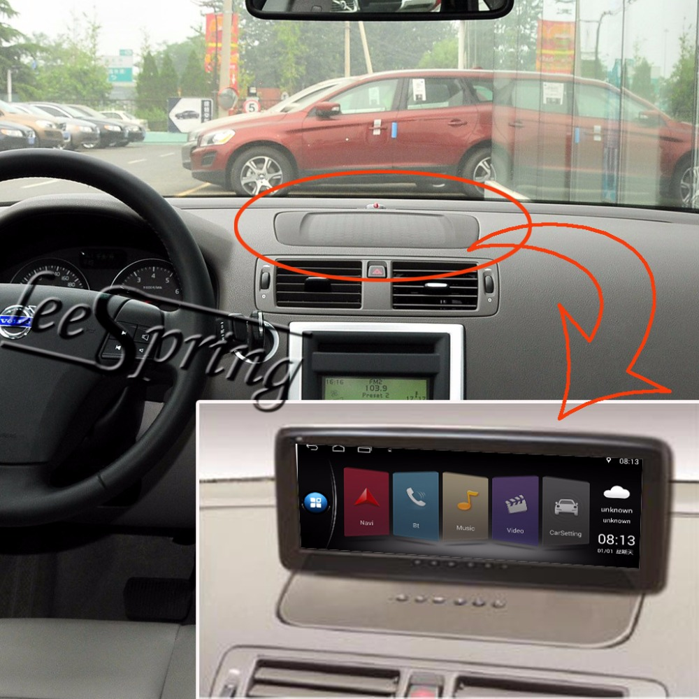 10 25 inch Car Multimedia font b Player b font for VOLVO S40 C30 C70 with