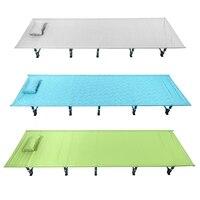 Открытый туристический коврик Портативный складной Алюминий сплав палатка спальная кровать