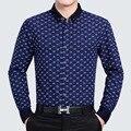 С длинным Рукавом Рубашки Мужчин мужская Мода Дизайн Нового весна Мужские Платья Хлопчатобумажные Рубашки Повседневные Плюс Размер Мужские рубашка