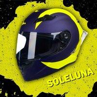 Motorrad helm full face helm carbon malerei oberfläche Casco De Moto Motociclista racing helm DOT zertifikate