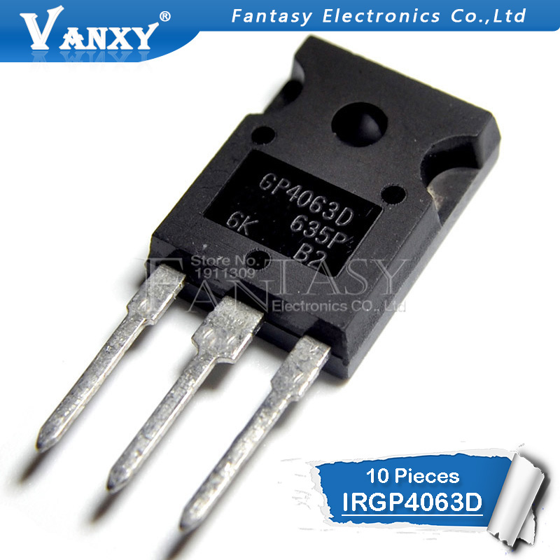 10PCS IRGP4063D TO-247 GP4063D TO-247 IRGP4063 IRGP4063DPBF TO-3P 48A 600V New Original