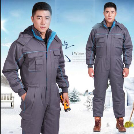ФОТО Wholesale/Retail Winter Cotton Jacket Sets Fishing Jackets Thicken Warm Jumpsuit for Labor Service Worker Clothing