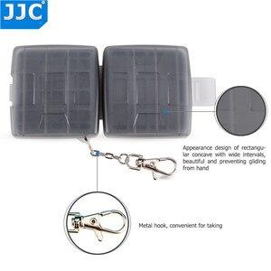 Image 5 - JJC מים עמיד מחזיק אחסון מצלמה זיכרון כרטיס תיק SD MSD 2 SIM מיקרו SIM Nano SIM כרטיסי מקרה