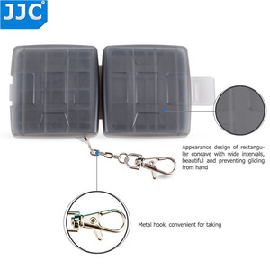 Image 5 - JJC Water resistant Holder Storage Camera Memory Card Bag SD MSD 2 SIM Micro SIM Nano SIM Cards Case