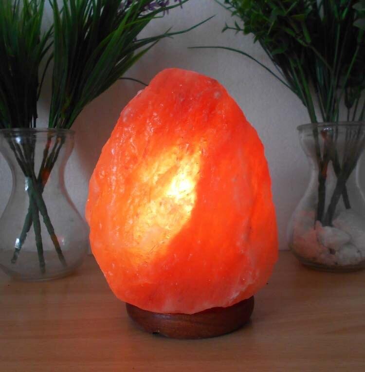 Lámpara de sal regulable