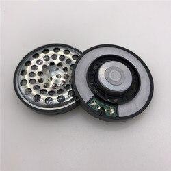 Impressionante som novo 50mm 32 ohm unidade de alto-falante para diy fone de ouvido com capa de ferro