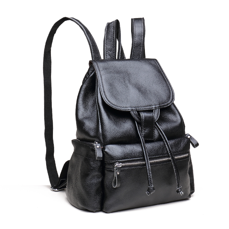 Hot Sale 2016 New Fashion Famous Brand women real leather backpack lady genuine leather backpack Casual school bag Shoulder bags zooler genuine leather backpacks 2016 new real leather backpack for men famous brand china hot large capacity hot 65055