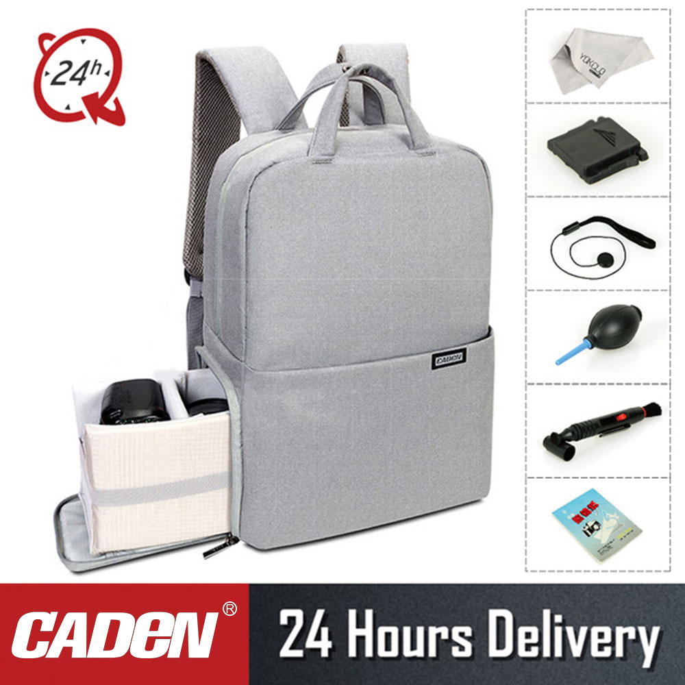 8b64007cb2 CADeN L5II Anti-theft DSLR Camera Bag Backpack Multifunction Travel Outdoor  Waterproof Tablet Laptop Bag for Sony Canon Nikon