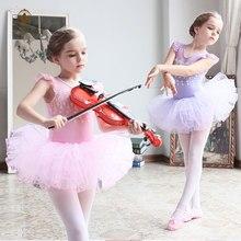 df74524d30 2-10Y Crianças Vestidos de Verão Romântico Da Dança Da Bailarina Ballet  Traje Para As Meninas 4 Camadas TUTU Leotard Dancewear R..