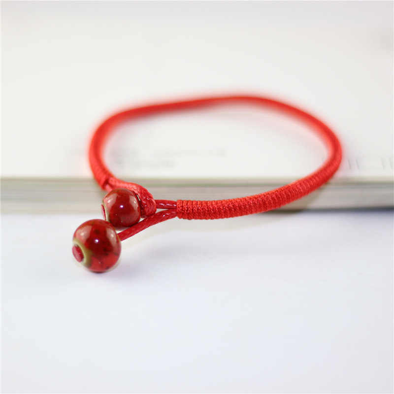 1 Pcs Women Lucky Red String Bracelets Men Jewelry 100% Handmade Bangles Boho Style Girls Gift