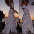 New Design Lace Sexy Harness Vest Fight Wide Leg Large Bell Bottoms Cheap For Women