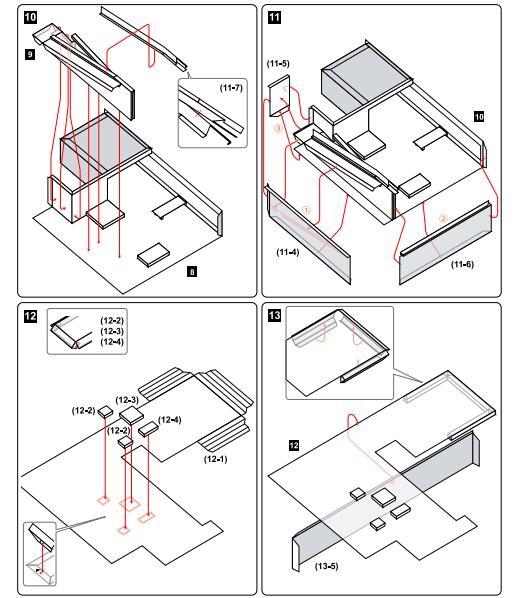 Aliexpress Buy Diy Le Corbusier Villa Savoye Craft Paper Model