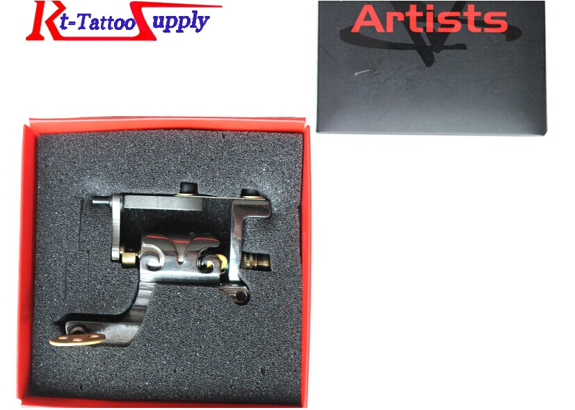 ФОТО Artists flower rotary tattoo machine Shader & Liner Rotary Gun Assorted Tatoo Motor Gun Grips Kits Free Shipping