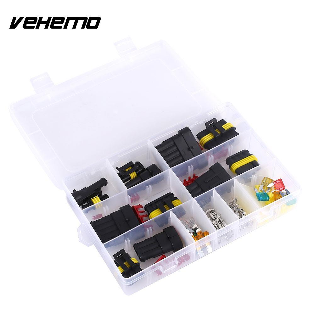 vehemo 1 2 3 4 5 6 pin car fuse connector waterproof. Black Bedroom Furniture Sets. Home Design Ideas