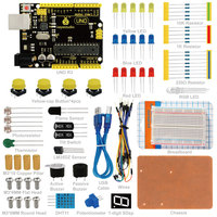 Free Shipping Electronics Fans Package Electronic Component Package Kit For Arduino