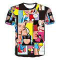 Hot Snow White,cartoon,mickey 3D Print T-shirt Unisex Tee Cotton Shirts Short Sleeve Casual Homme Loose Summer Tops
