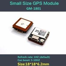 Ультра малый объем UART ttl умный gps модуль GN-1801 7020 чип 18 мм* 18 мм* 6,2 мм