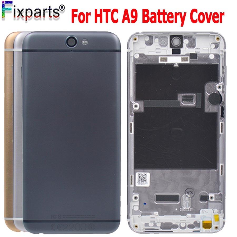 Novo Caso de Habitação de Bateria Para HTC One A9 Peças de Reposição de Habitação Tampa Traseira Da Bateria de Substituição Para HTC One A9 Bateria cobrir