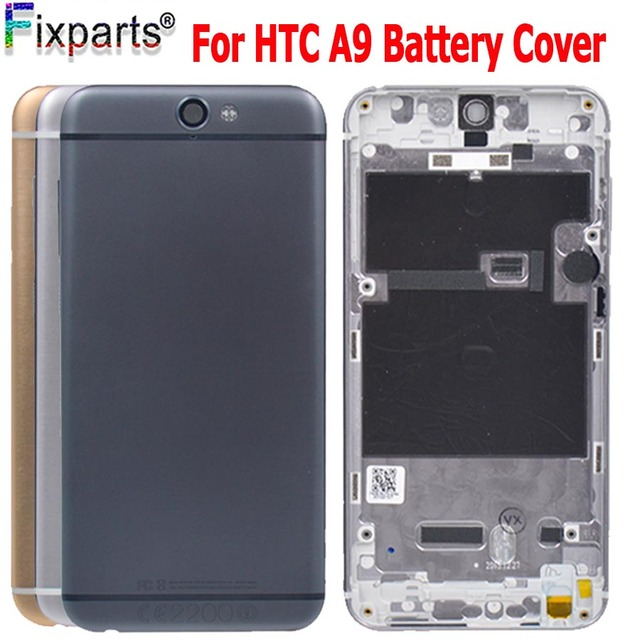 free shipping b48d1 1e4eb US $10.8 |New Battery Housing Case For HTC One A9 Replacement Parts Battery  Housing Rear Cover Replacement For HTC One A9 Battery Cover-in Mobile ...