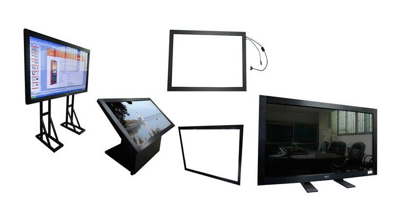 42 дюймов USB мульти сенсорный экран Рамка 42 Двойной ИК мульти сенсорный экран панель для киоска & мульти реклама