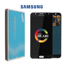 ORIGINAL 5.5 LCD for Samsung Galaxy J7 Duos 2018 J720 LCD Display Touch Screen Digitizer Digitizer Assembly Repalcement Parts