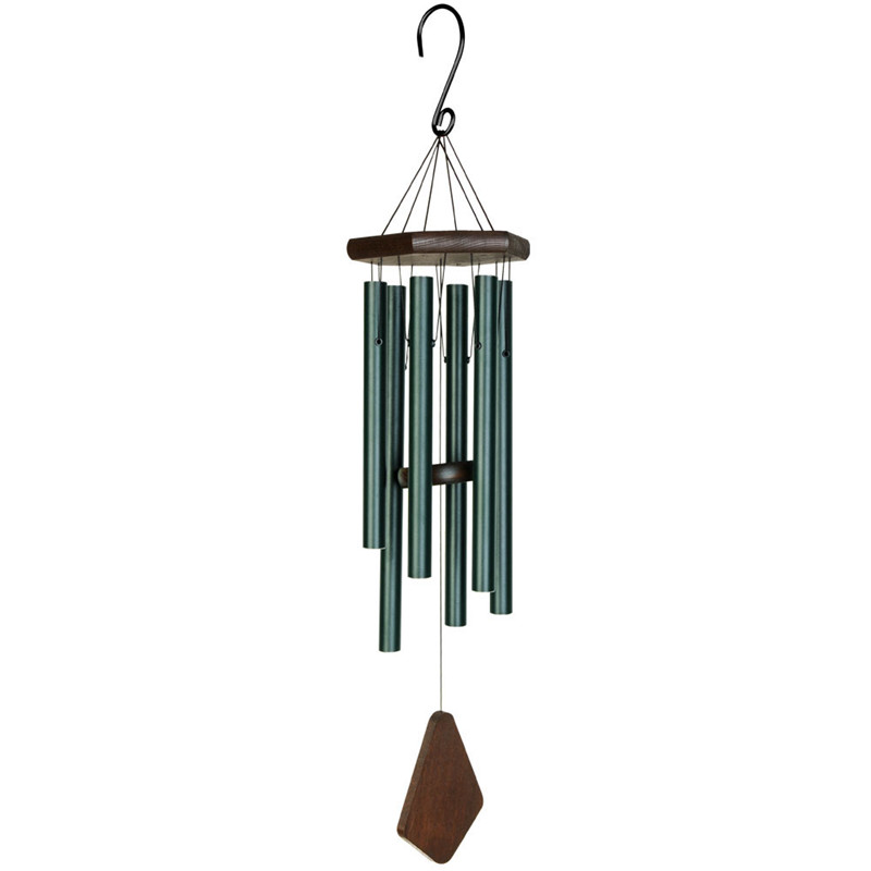 Wind Chime Outdoor Large Deep Tone Musical 28 Memorial Wind Chimes with 6 Aluminum Tubes Tuned