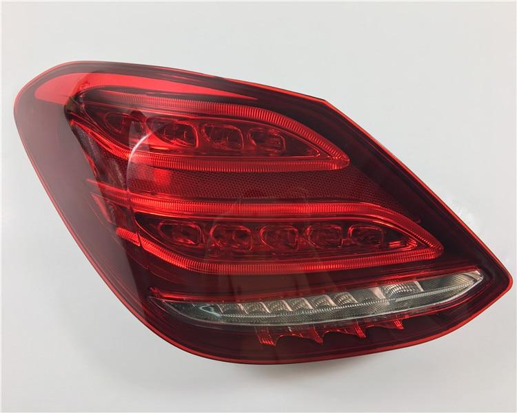 RQXR LED rear light + brake light + turn signal rear bumper light reflector for Mercedes-Benz C class W205 C180L C200L C260LRQXR LED rear light + brake light + turn signal rear bumper light reflector for Mercedes-Benz C class W205 C180L C200L C260L