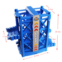 Vertical Lift Toy Mini Car Track Attachment Toy Car Fan Lifts And Ramps Track Accessories Suitable