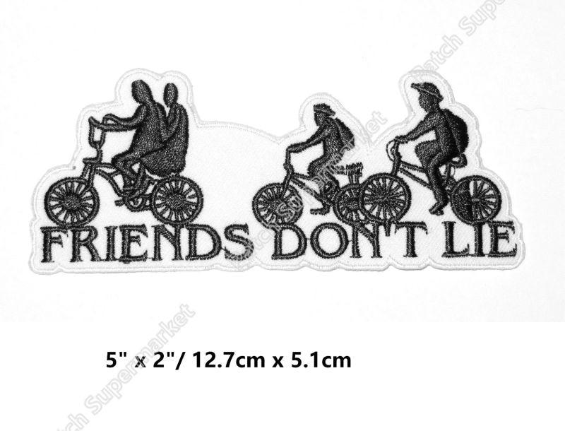 """5 """"أشياء غريبة مستوحاة بقع TV الفيلم السينمائي سلسلة زي المطرزة حديد على زي تأثيري الأصدقاء لا يكذبون شارة-في لصقات طبية من المنزل والحديقة على  مجموعة 1"""