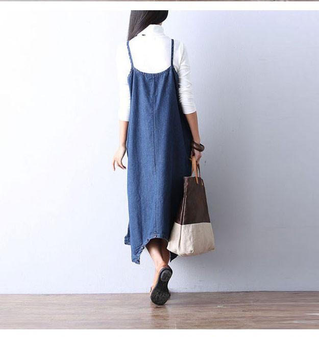 Summer Spring Plus Size Denim Dungarees Combinaison Femme Elegant ... 0af2a133fa52
