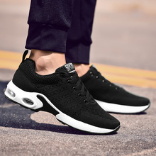 Breathable Running Shoes For Man Black Blue Sport Shoes Men Sneakers solomons Man tennis