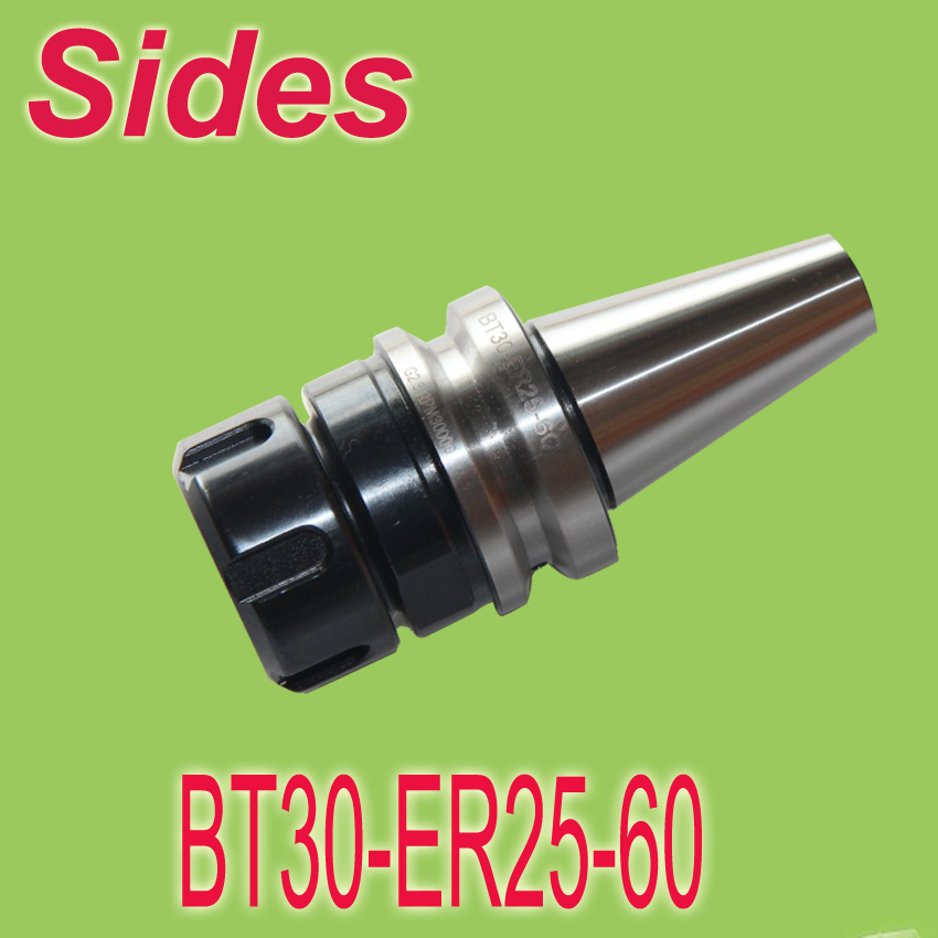 Free Shipping  BT30 ER25 60mm Spring ER Collet Chuck CNC  Milling Toolholder Clamping End Mills Work on CNC Milling Machine  цены