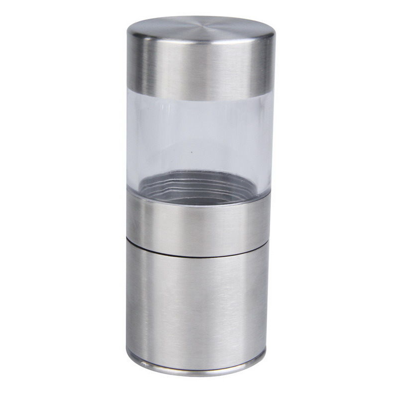 Image 3 - Manual Pepper Mill Salt Pepper Mill Grinder Portable Kitchen Mill Muller Home Kitchen Tool Spice Sauce Grinder Pepper Mill-in Mills from Home & Garden