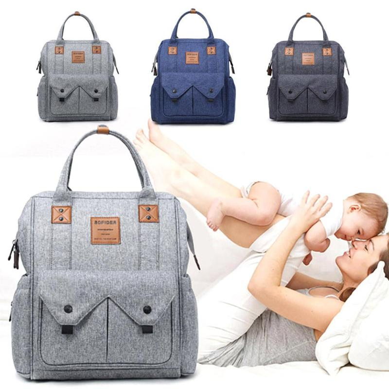 Fashion Mummy Maternity Nappy Bag Large Capacity Mom Baby Diaper Bag Travel Backpack Designer Nursing Bag for Baby Care XV3 fashion mummy bag travel baby diaper bag large capacity multifunctional baby diaper backpack red