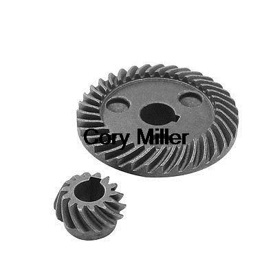 Electric Power Tool Spiral Bevel Gear Set for Makita 9523 Angle Grinder electric power tool angle grinder spiral